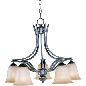 Madera Oil Rubbed Bronze Five-Light Chandelier