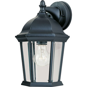 Builder Cast Black One-Light Twelve-Inch Outdoor Wall Sconce