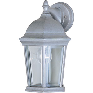 Builder Cast Pewter One-Light Eight-Inch Outdoor Wall Sconce