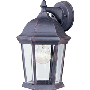 Builder Cast Rust Patina One-Light Eight-Inch Outdoor Wall Sconce