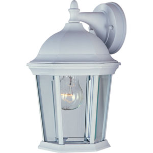 Builder Cast White One-Light Twelve-Inch Outdoor Wall Sconce