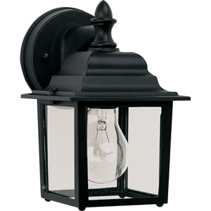 Builder Cast Black One-Light Outdoor Wall Lantern