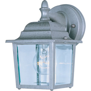 Builder Cast Pewter One-Light Outdoor Wall Lantern
