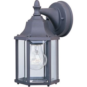 Builder Cast Black One-Light Outdoor Five-Inch Wall Sconce