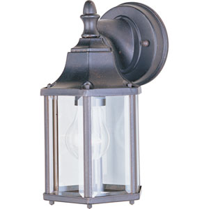 Builder Cast Empire Bronze One-Light Five-Inch Outdoor Wall Sconce