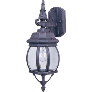 Crown Hill Rust Patina One-Light Outdoor Wall Lantern