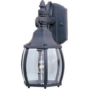 Crown Hill Black One-Light Outdoor Wall Sconce