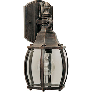 Crown Hill Rust Patina One-Light Outdoor Wall Sconce