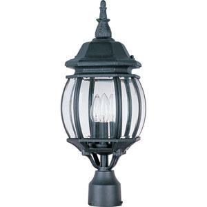 Crown Hill Three-Light Outdoor Pole/Post Lantern