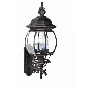 Crown Hill Rust Patina Four-Light Outdoor Wall Mount