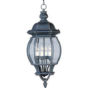 Crown Hill Rust Patina Four-Light Outdoor Hanging Lantern