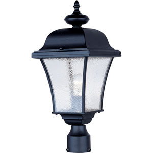 Senator Black One-Light Outdoor Pole/Post Lantern