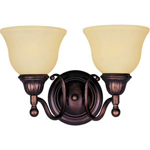 Soho Oil Rubbed Bronze Two-Light Wall Sconce