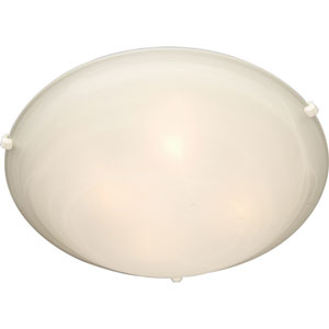 Newport White Flush Mount Ceiling Light