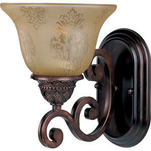 Symphony Oil Rubbed Bronze One-Light Bath Fixture