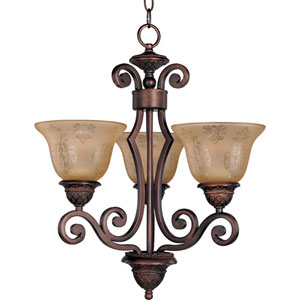 Symphony Oil Rubbed Bronze Three-Light Chandelier