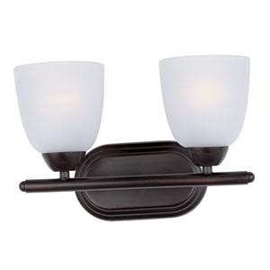 Axis Oil Rubbed Bronze Two-Light Bath Vanity