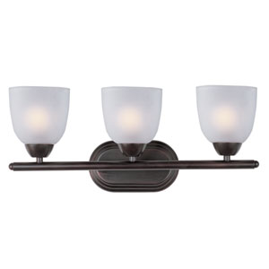 Axis Oil Rubbed Bronze Three-Light Bath Vanity