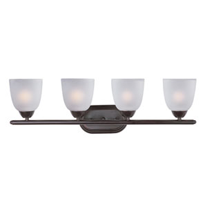 Axis Oil Rubbed Bronze Four-Light Bath Vanity