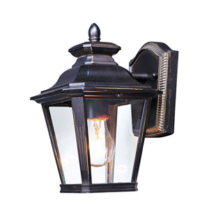 Knoxville Bronze Seven-Inch One-Light Outdoor Wall Mount