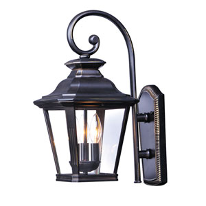 Knoxville Bronze 11-Inch Three-Light Outdoor Wall Mount
