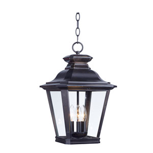 Knoxville Bronze Three-Light Outdoor Lantern