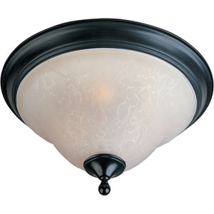 Linda Black Flush Mount Ceiling Light