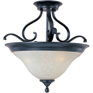 Linda Three-Light Semi-Flush Ceiling Light