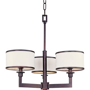 Nexus Oil Rubbed Bronze Three-Light Chandelier