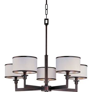 Nexus Oil Rubbed Bronze Five-Light Chandelier