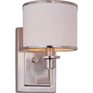 Nexus Satin Nickel One-Light Wall Sconce