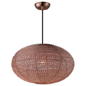 Twisp Copper One-Light Twelve-Inch Pendant