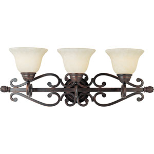 Manor Oil Rubbed Bronze Three-Light Bath Fixture