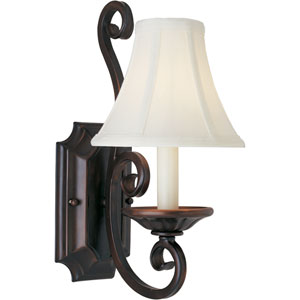 Manor Oil Rubbed Bronze One-Light Wall Sconce