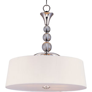 Rondo Polished Nickel Four-Light Entry Foyer Pendant