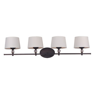 Rondo Oil Rubbed Bronze Four Light Bath Vanity