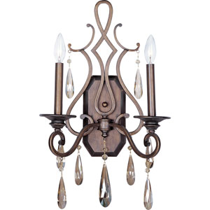 Chic Two-Light Wall Sconce