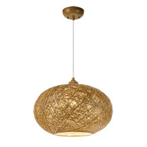 Bali Natural One-Light 16-Inch Pendant