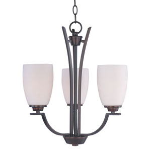 Rocco Oil Rubbed Bronze Three-Light Chandelier
