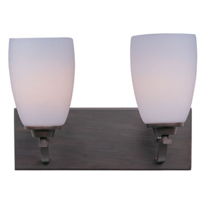 Rocco Oil Rubbed Bronze Two-Light Bath Vanity