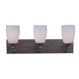 Rocco Oil Rubbed Bronze Three-Light Bath Vanity