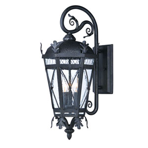Canterbury DC Artesian Bronze 23-Inch Three-Light Outdoor Wall Mount