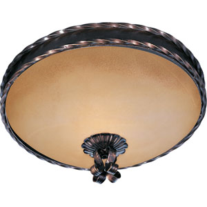 Aspen Two-Light Flush Mount Ceiling Light