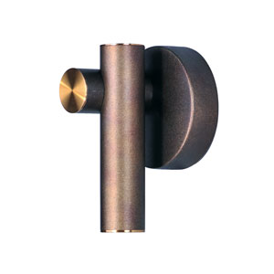 Tubular LED Bronze Fusion and Antique Brass LED Wall Sconce