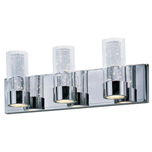 Sync Polished Chrome Six-Light LED Bath Vanity