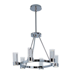 Sync Polished Chrome 12-Light LED Single-Tier Chandelier