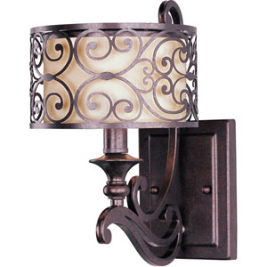 Mondrian Umber Bronze One-Light Sconce