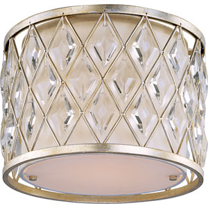 Diamond One-Light Flush Mount