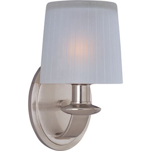 Finesse Satin Nickel One-Light Wall Sconce