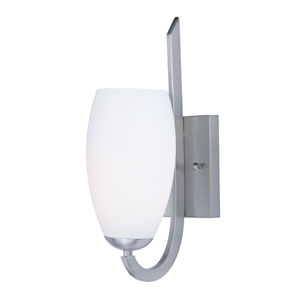 Taylor Satin Nickel One-Light Wall Sconce
